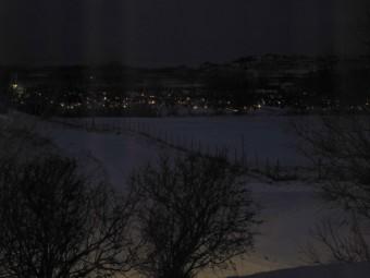 Lysene er tent på kirkegården