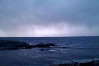 Tett regn i horisonten