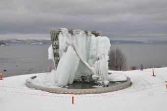 Litt is i fontena