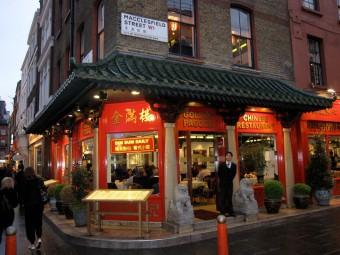 Restaurant i Chinatown