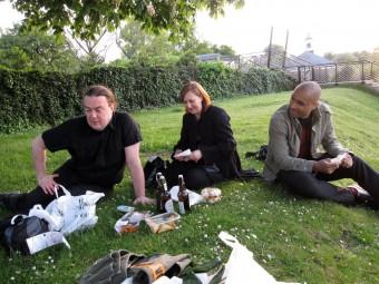 Mat og hygge i Hyde Park